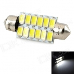 LED festoon SENCART 39mm 4W 110LM 9500K