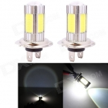 LED bulb H7 25W 4-COB + Cree XP-E