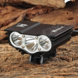 Bike LED Headlight SolarStorm 800lm Cree XM-L T6
