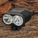 Bike LED Lamp UniqueFire HD-016 1100lm 2-CREE XM-L2 T6