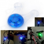 Bike Blue Light LED Tail Warning Light - Blue