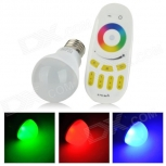 LED bulb E27 6W 450lm 20-SMD 5630 LED RGB Light