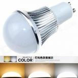 LED bulb GU10 CXHEXIN S10A-3+3 6W 360lm