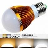 LED bulb CXHEXIN G27-3+3 E27 6W 360lm
