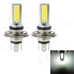 LED bulb HJ H4 24W 2200lm 6000K 4-COB LED (2 pcs.)