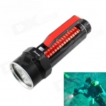 LED Flashlight KINFIRE KF400 1800lm 4 x CREE XM-L2 U2