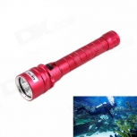 LED Flashlight KINFIRE 1500lm 3x CREE XM-L2 U2