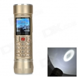 LED Flashlight  GSM Phone