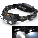 LED Headlamp Pange XQ-7 2-LED 230lm Cree XP-E