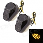 Motorcycle LED turn signals MZ 0.5W 120lm 15-LED for Kawasaki
