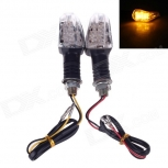 LED turn signals 6W 120lm 560~590nm 26-LED