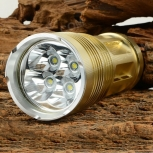 LED Flashlight 1800lm 3-Mode 4x Cree XM-L T6