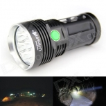 LED Flashlight UltraFire 8XT6  5000lm 8x Cree XM-L T6