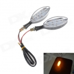 Motorcycle LED Turn Signals 2W 112lm 17-LED