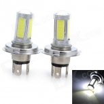 LED bulb Marsing H4 12W 1800lm 6500K 5-COB LED - 2 pieces