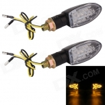 Motorcycle LED turn signals MZ 1W 140LM 9-LED