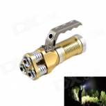 LED Flashlight KINFIRE KF-300 High Power 3-LED 1800lm