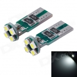 LED bulbs E0126 T10 1W 18lm 6000K (2 PCS)