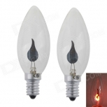 LED bulbs E14 3W 400LM (2PCS)