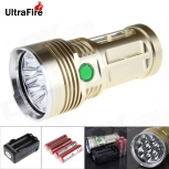 LED Flashlight UltraFire U-8T 8-LED 7500lm 8x Cree XM-L T6