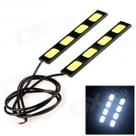 LED Daytime Running Light DIY 4W 120lm 6000K 4-LED