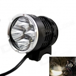 LED bike Headlamp KINFIRE AS40 4-LED 1800lm 4x Cree XM-L T6