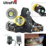 Waterproof LED Headlamp UltraFire LZZ Cree XM-L T6