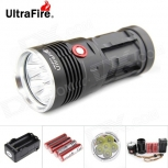 LED Flashlight UltraFire U-6T Cree XM-L T6 6-LED 6000lm