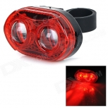 Red LED Light Bike Bicycle Tail Warning Lamp SY-368