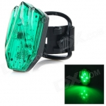 Green Light LED Warning Tail Lamp for Bicycle HJ-031