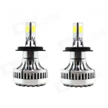LED bulbs H4 40W  6000K 3600lm COB 2 PCS