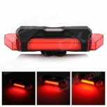 LED Warning Tail Lamp for Bicycle RPL-2262 100lm