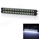 Car Daytime Running LED Light exLED 5.4W 8500K 720lm 12V / 2 PCS