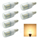 LED bulbs HONSCO E14 4W 3500K 280lm 6 PCS