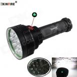 LED Flashlight KINFIRE KF-16 XM-L2 U2 9600lm 16-LED