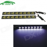 Car Daytime Running Lights CARKING CS175 8W