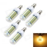 LED bulbs Marsing E14 12W 3000K 1200lm 69x SMD 5730 (AC 220~240V) 5 PCS