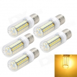 LED bulbs Marsing E27 10W 3000K 1000lm SMD 5730 (AC 220~240V) 5 PCS