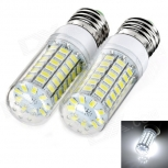 LED bulbs exLED E27 12W 6500K 1000lm 69-SMD 5730 2PCS