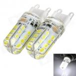 LED bulbs exLED G9 AC220V 3W 6000K 190lm 32-SMD 3528 LED (2PCS)