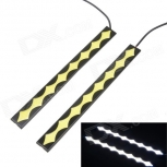 LED Car Daytime Running Light 8W 6500K 450lm 12V / 2PCS