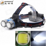 LED Headlight ZHISHUNJIA K82-2T6 2-LED 1800lm