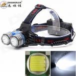 LED Headlight ZHISHUNJIA K82-2T6 2-LED 1800lm
