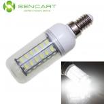 LED bulb SENCART E14 10W 6500K 800lm 48-SMD 5730 (AC 100~240V)