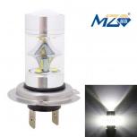 LED bulb MZ H7 45W 9 x XT-E 2250lm (12~24V)