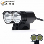 Bicycle LED Light ZHISHUNJIA LR-2 2000lm 2 x XM-L T6