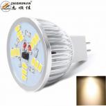 LED spotlight ZHISHUNJIA MR16 5W 400lm 3000K