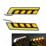 LED daytime running lights 7.5W 4-COB LED 2 PCS