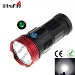 LED Flashlight UltraFire XP-L V5 R8 8-LED 7500lm