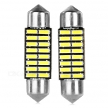 LED Festoon 36mm 1W 6500K 16-SMD 4014 2PCS
